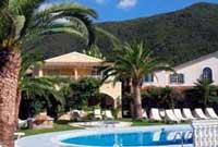 Hotel auf Korfu
